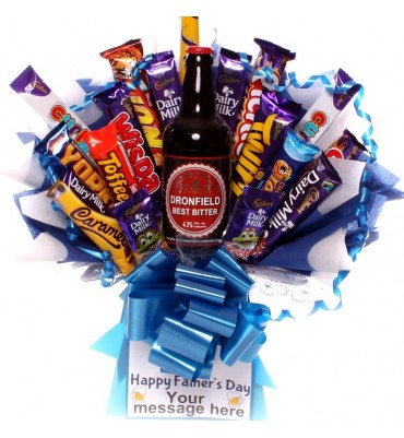 Father's Day Craft Beer Chocolate Bouquet.