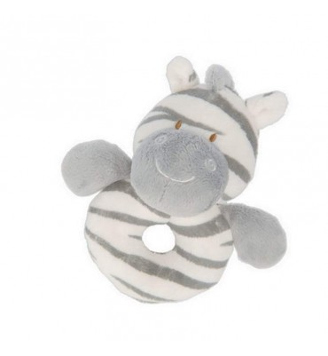 Jungle Friends Zooma Zebra Ring Rattle