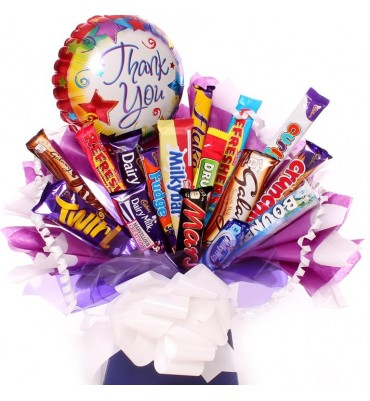Thank You Chocolate Bouquet