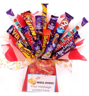 Well Done Chocolate Bouquet Gift.