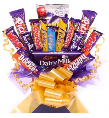 Cadbury Chocolate Bouquet Indulgence.