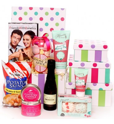 Pamper Night In DVD Hamper.