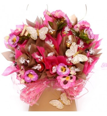 Lindor Chocolate Bouquet A Luxury Chocolate Bouquet Gift Lindt Chocolate.