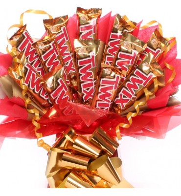 Twix Chocolate Bouquet.