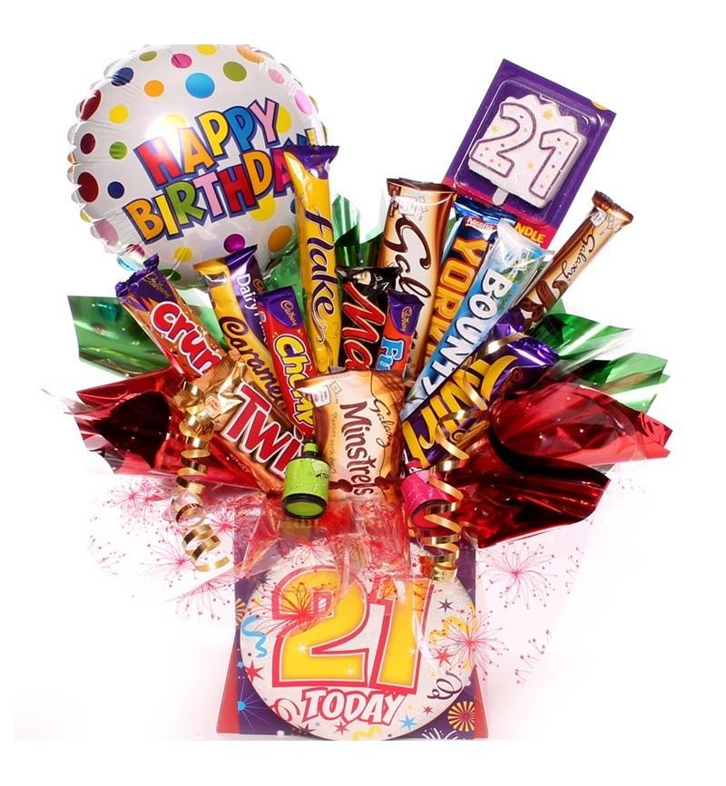 21st Birthday Chocolate Bouquet