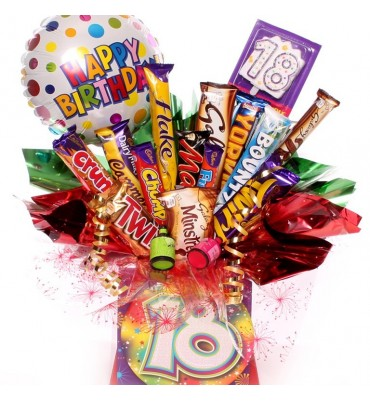 18th Birthday Chocolate Bouquet