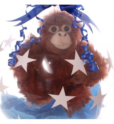 Stuffed Balloon- Adorable Cuddly Orangutan