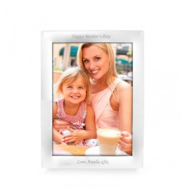 Personalised Silver 10x8 Photo Frame