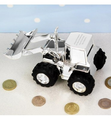 Personalised Digger Money Box