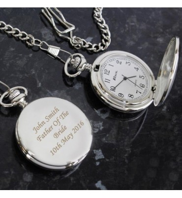 Personalised Pocket Fob Watch
