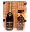 Champagne and Truffles.