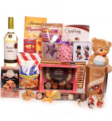 Birthday Fine Food Hamper - The Chatsworth