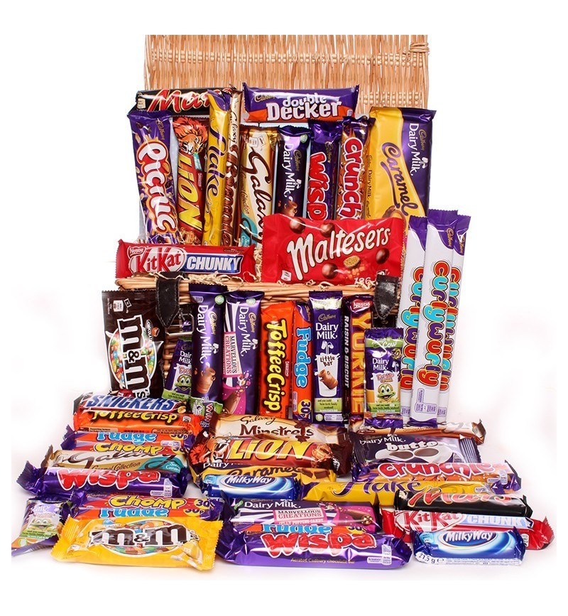 Large Chocolate Hamper- sharing chocolate hamper.