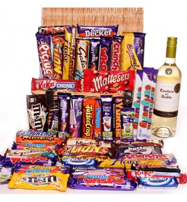White Wine Chocolate Hamper.