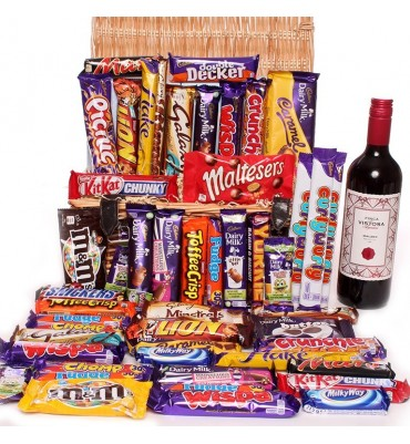 Malbec Large Chocolate Hamper.