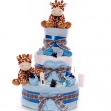 Twin Nappy Cakes | Nappy Cakes For Twins | Twin Baby Gifts