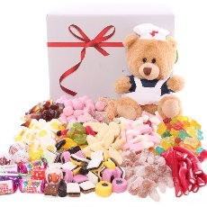 Get Well Sweet Hamper | Get Well Chocolate Hamper | Get Well Chocolate Gift Set