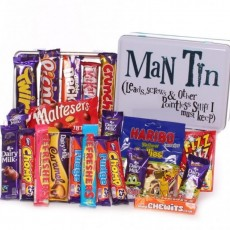 Sweet Gifts For Him | Sweets Tin Him