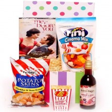 Night In Hamper | Night In DVD Hampers