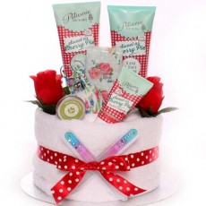 Valentine Day Pamper Hampers and Pamper Gifts.