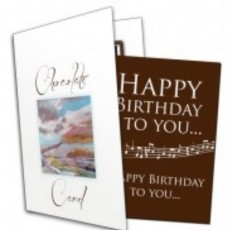 Chocolate Greetings Cards.