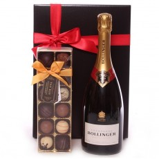 Champagne hampers and Champagne gifts.