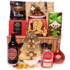 Christmas couples hampers, gifts and Christmas Couples chocolate bouquets.