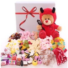 Valentine's Sweet Hampers and Valentine's Sweets.