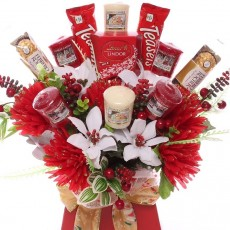 Yankee Candle Christmas Bouquets and Candle Gifts.  Christmas Bouquets