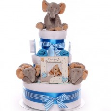 Welcome to The Unique Gift Store's Nappy Cake shop UK | Nappy Cakes for Baby Boys.