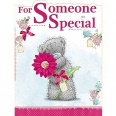 Someone special greetings card.