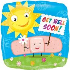 Get Well Helium Balloon Gift.